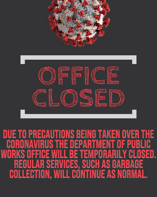 office closed, coronavirus